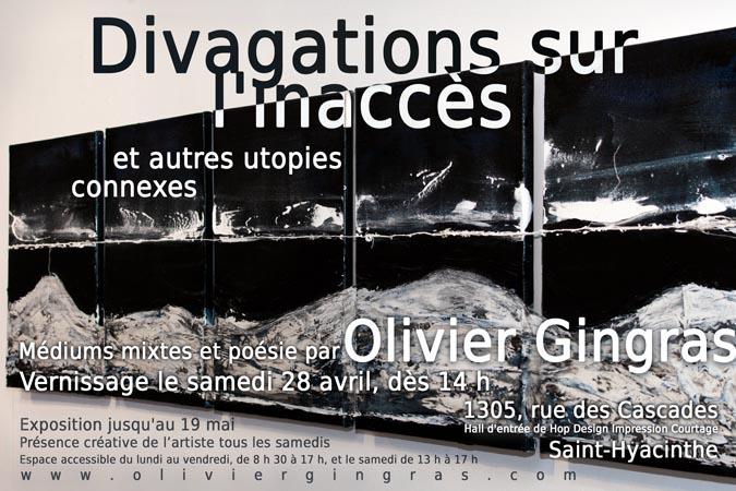 Olivier Gingras, Artiste